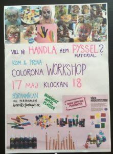 Workshop: skapande och pyssel