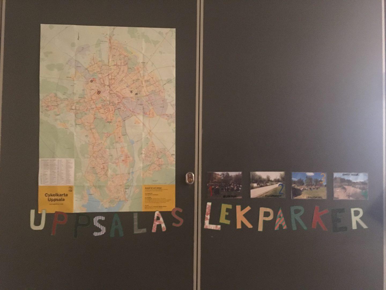 Hjälp oss med lekparkskartan!