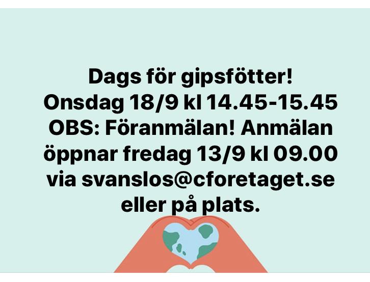 You are currently viewing Gipsfötter på gång