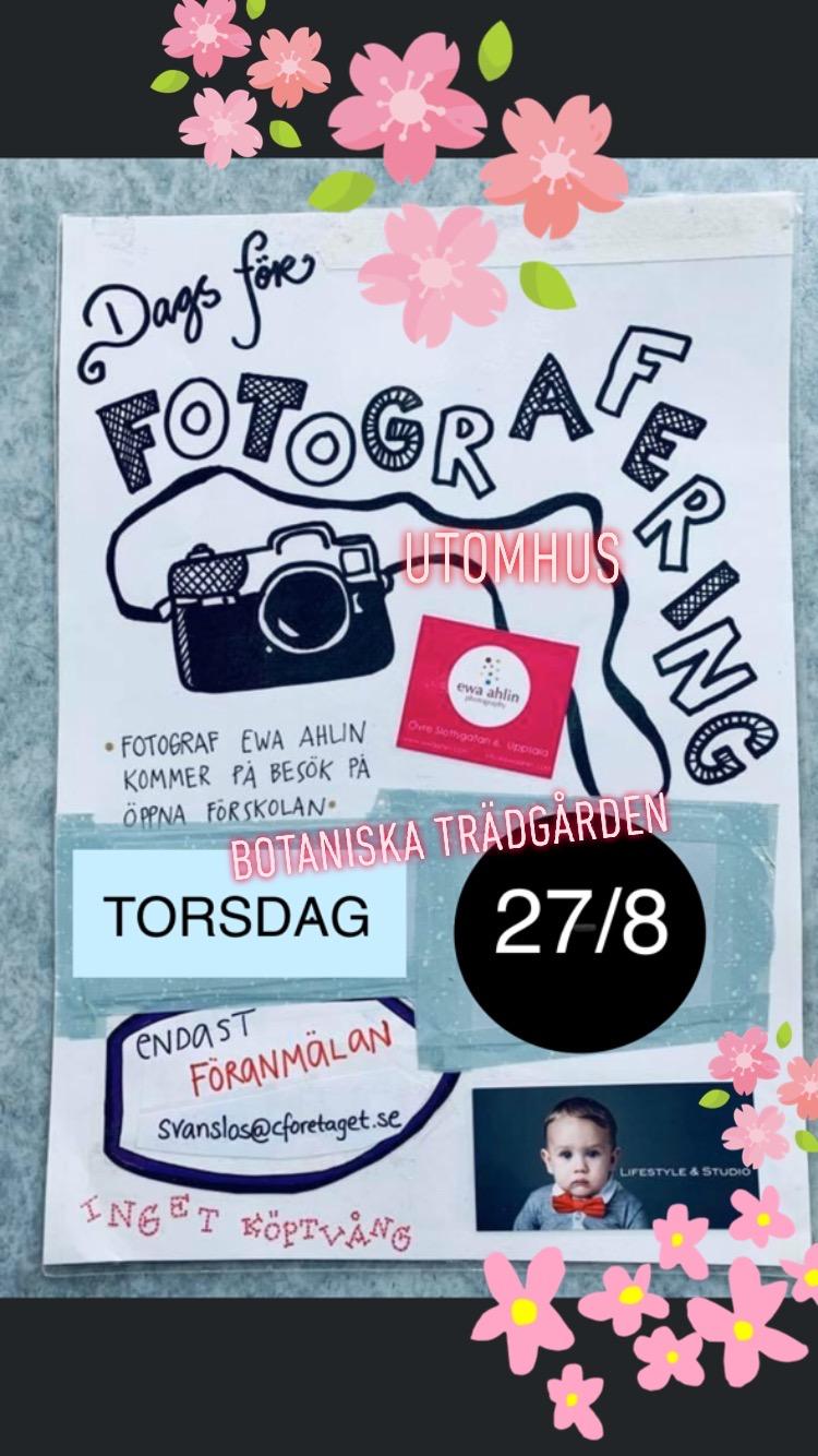 You are currently viewing Dags att boka tid för Fotografering