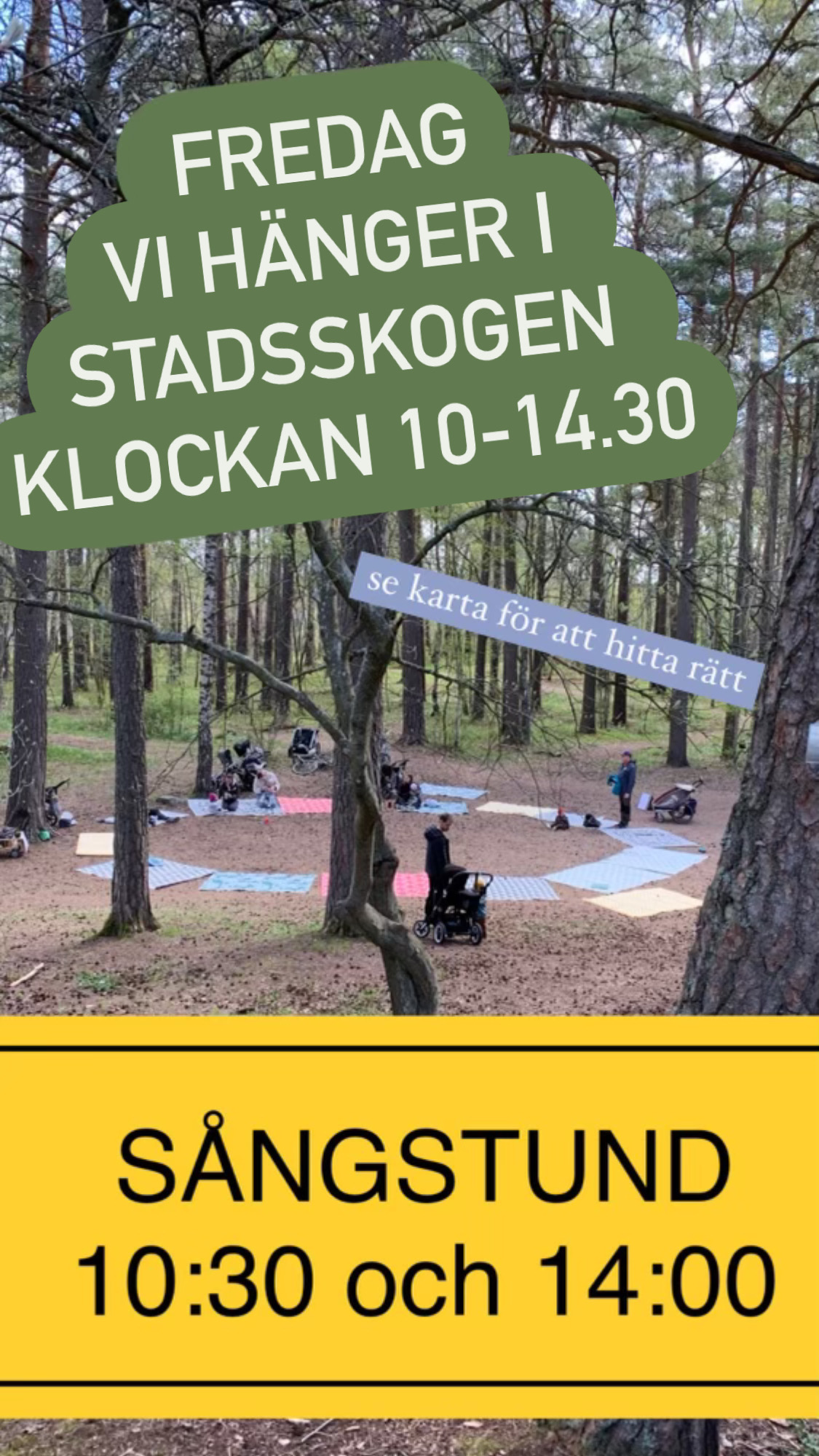 You are currently viewing Fredagshäng i Stadsskogen