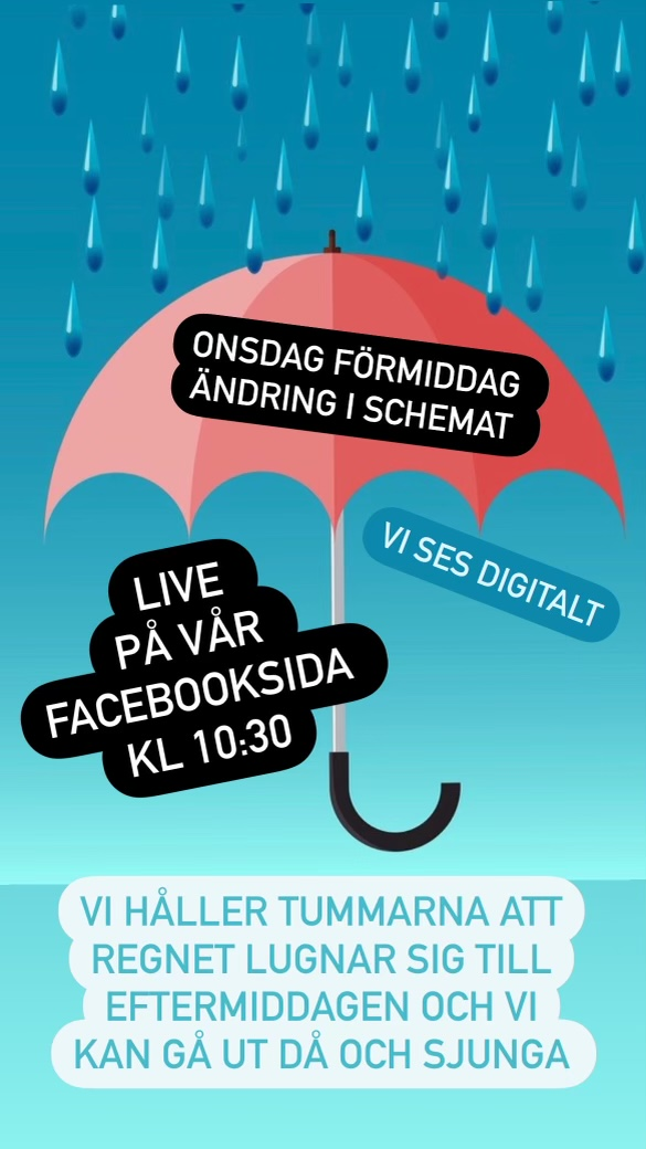 You are currently viewing Sångstunden onsdag 18/8 10:30 ändrad! ☔️