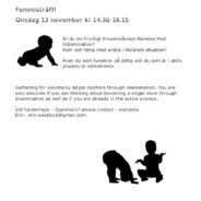 Femmisträff på Temaonsdag 13 november