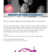 Träning efter graviditet – workshop