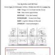Lär dig teckna med ditt barn – kurs i TSS ( tecken som stöd)